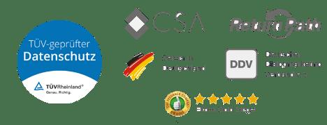 Email Marketing Software mit geprüftem Datenschutz