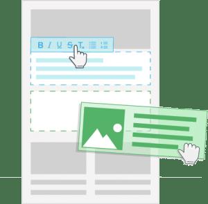Erstellen ohne HTML - Newsletter2Go