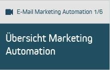 E-Mail Marketing Automation Teil 1