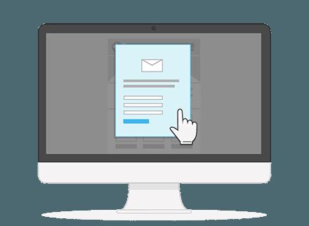Anmeldeformular Newsletter