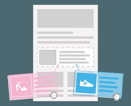 Personalisierte Bausteine Newsletter
