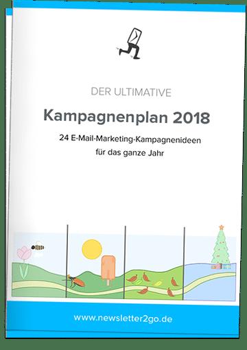 E-Mail-Marketing-Kampagnenplan 2018 - Newsletter2Go